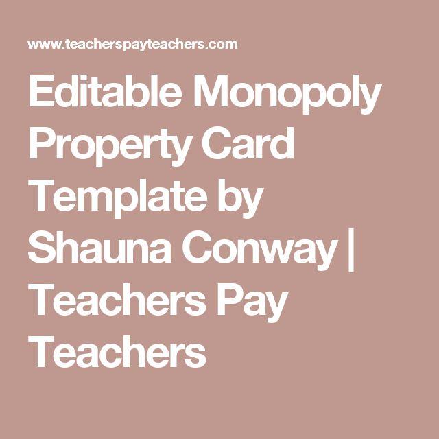 Best 25+ Monopoly classroom ideas on Pinterest Printable board - poster f amp uuml r die k amp uuml che