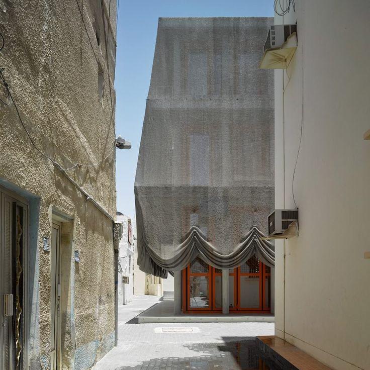 Office Kersten Geers David Van Severen design Dar Al Muharraq cultural center