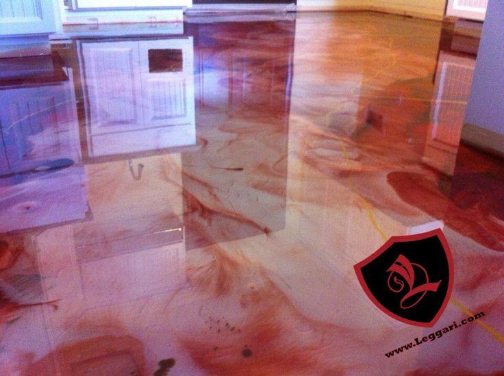 Diy Epoxy Floor Coating : Best images about leggari products diy metallic epoxy