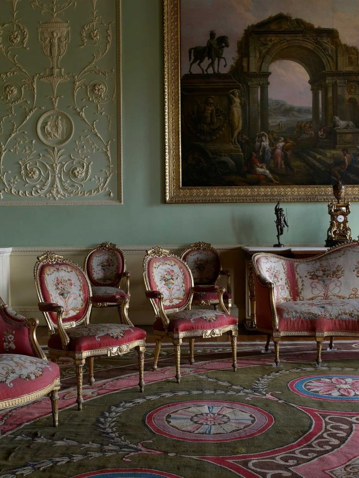 Wonderful Harewood House In Yorkshire Has Original Georgian Designs