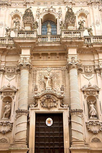 Baroque Church Brindisi, Puglia Italy