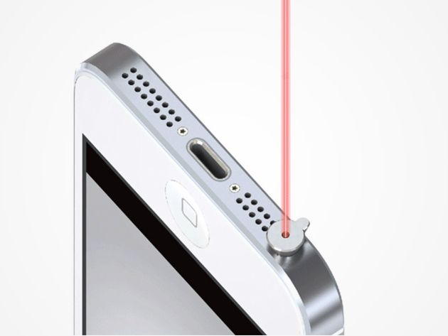 iPin Laser Pointer for iPhone: Turn Your iPhone into the World's Smallest Laser Pointer & Always Be Presentation-Ready
