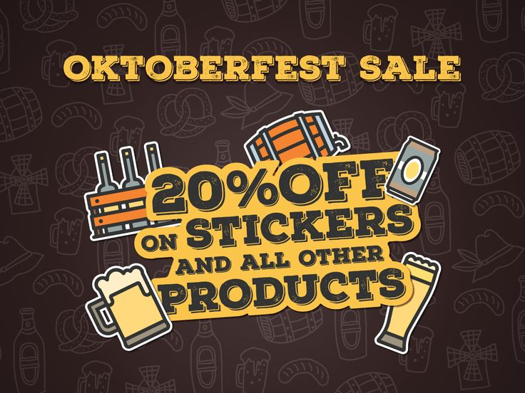 Avail our Oktoberfest Sale now! Get 20% OFF on our selected product type for orders above $260 only!