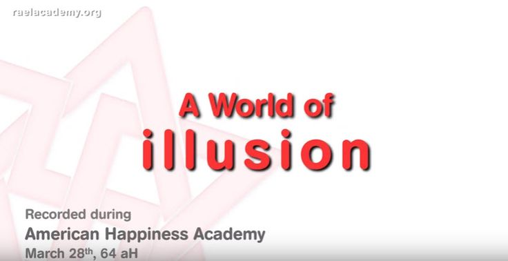 """A WORLD OF ILLUSION Maitreya Rael talks about how much Las Vegas is the best place for a Happiness Academy because it is """"the top city in the world for Illusion"""". He explains that when you know there is Illusion it can be good, it can even bring joy, but also to make sure that """"your happiness is coming from inside"""" and not from the many illusions of this world. #RaelTV"""