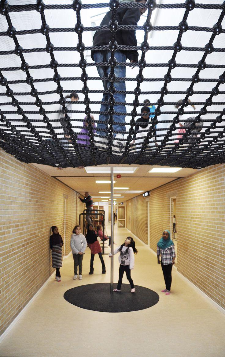 D. 24. oktober blev den nye 1,2 km lange bevægelsesti indviet på Søndervangskolen.