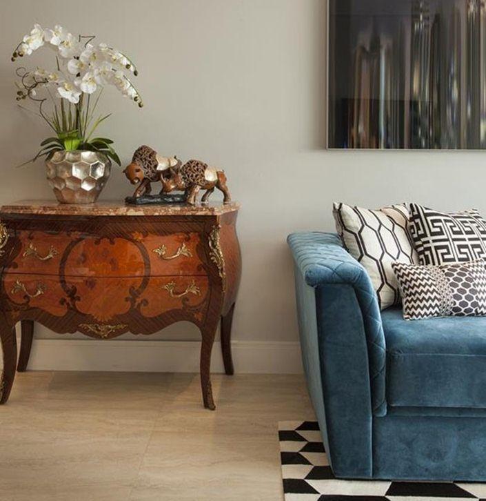 Dicas para usar m veis cl ssicos na decora o for Sala de estar estilo arabe