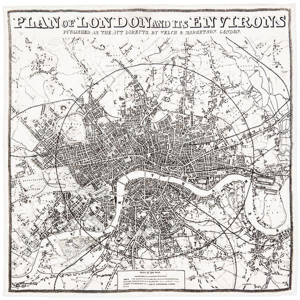 Plan of London and its Environs.