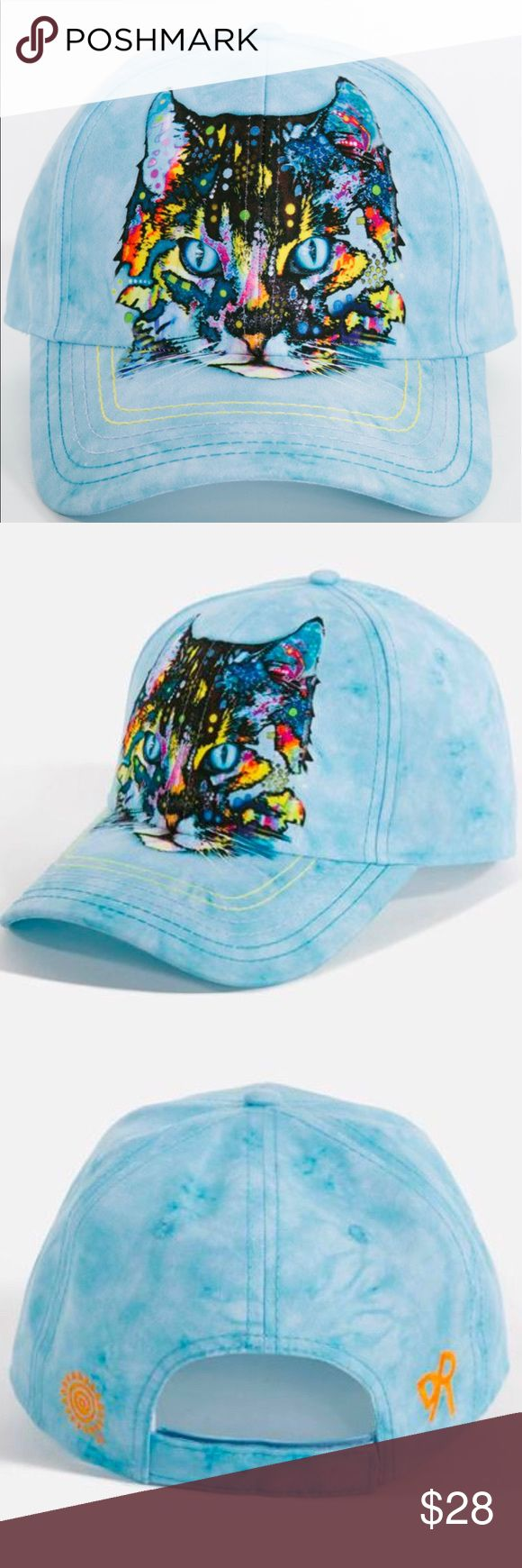 Hypnos Cat Hat by Dean Russo - O/S Fits Most Assembled from 100% Polyester Velcro Adjustable Strap Low Profile, Six Panel Construction Tri-Colored Stitching on visor Embroidered Dean Russo logo on the back Responsibly sourced overseas Produced using sustainable environmental and social practices One size fits most Dean Russo Accessories Hats