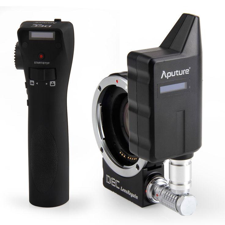 (589.00$)  Watch more here  - Aputure focus reducing adapter telecompressor Optic Reducer Adapter wireless focus controller DEC LensRegain for MFT