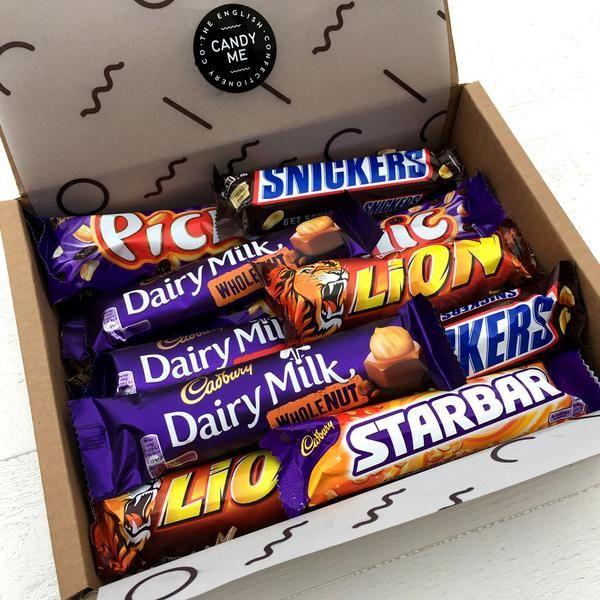British Fruit And Nut Chocolate Bar Selection Box