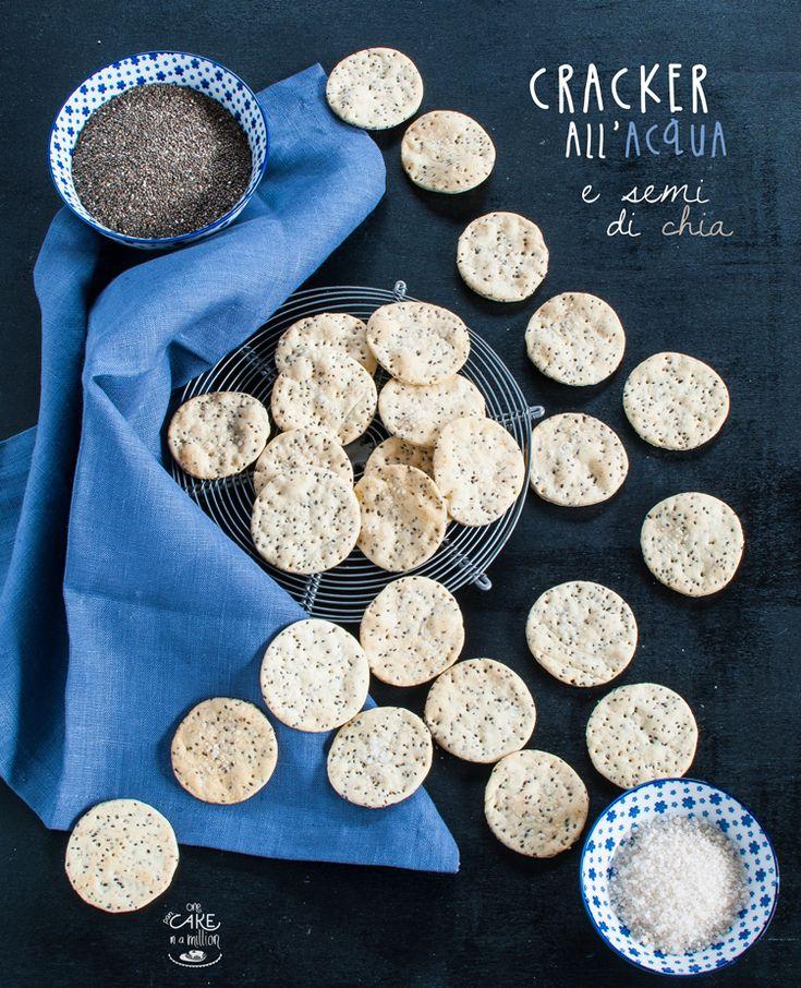 cracker, acqua, olio, senza lievito, semi di chia, leggeri, light