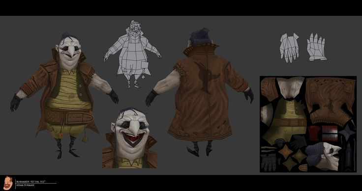 LOWPOLY (sub 1000~ triangle models) - Page 364 - Polycount Forum