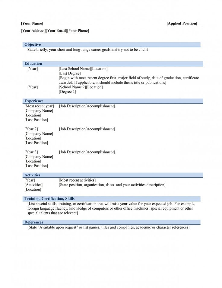 resume builder template format download pdf cna examples with