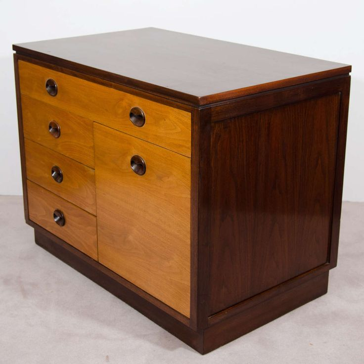 Vintage Filing Cabinet by Edward Wormley for Dunbar | From a unique collection of antique and modern cabinets at https://www.1stdibs.com/furniture/storage-case-pieces/cabinets/