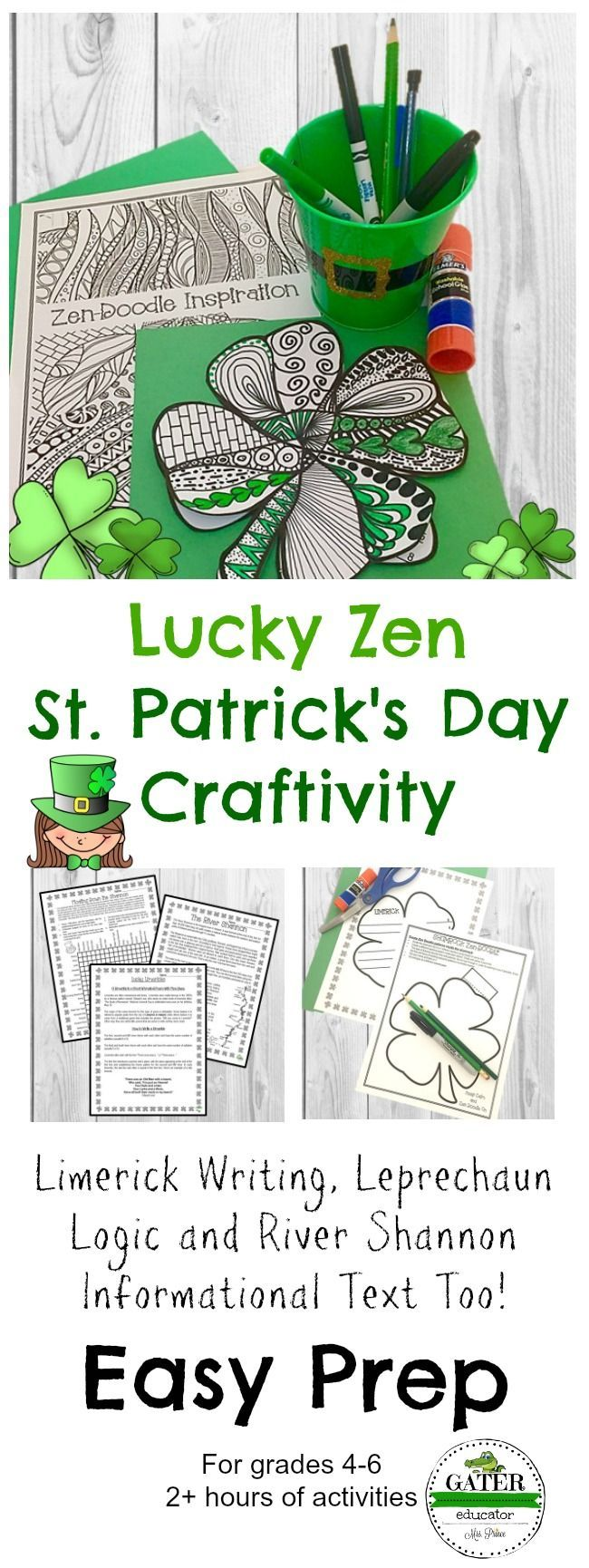 Looking for some St Pattys Day fun in your upper elementary classroom Try this