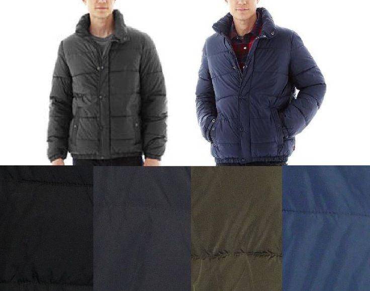 Levis Mens Puffer Jacket Coat Lightweight Nylon Solid size S M L XXL NEW  39.99 http://www.ebay.com/itm/Levis-Mens-Puffer-Jacket-Coat-Lightweight-Nylon-Solid-size-S-M-L-XXL-NEW-/232322176891?ssPageName=STRK:MESE:IT