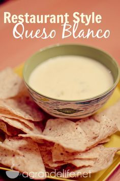 Restaurant Style Queso Blanco #recipe #pinterestfoodie