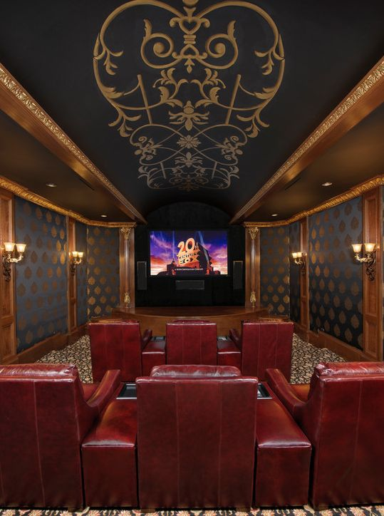 Home Theater Design Houston Property Awesome Decorating Design