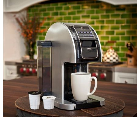 Single serve coffee brewer by Touch Coffee & Beverages