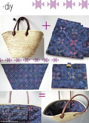 ID+DIY: Panier / wicker basket