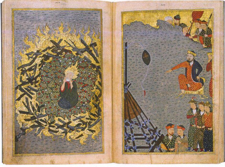 Nemrud'un İbrahim'i ateşe atması (özlem hemiş'ten)