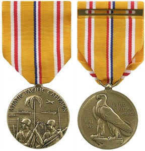 Last name asian pacific campaign medal pictures image