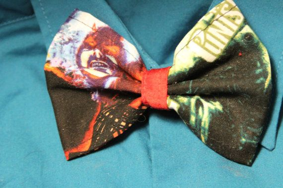 Check out this item in my Etsy shop https://www.etsy.com/listing/285873059/daredevil-punisher-clip-on-bow-tie-or