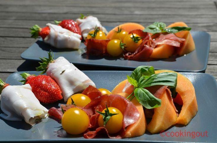 Fruits et charcuterie des associations étonnantes et délicieuses