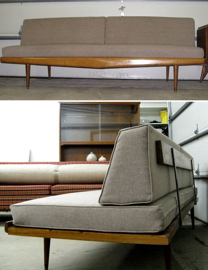 scavenger mid century modern sofa for 495 new york