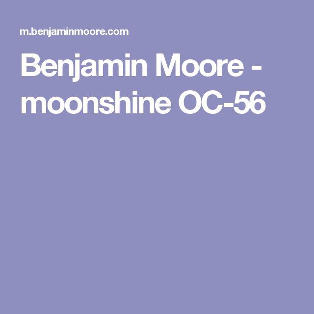 Benjamin Moore - moonshine OC-56