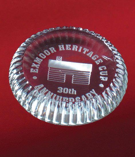 Bottlecap Glass Paperweight