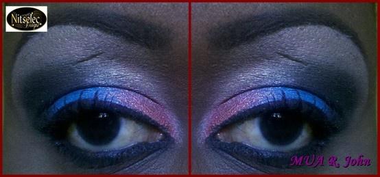 Four color application