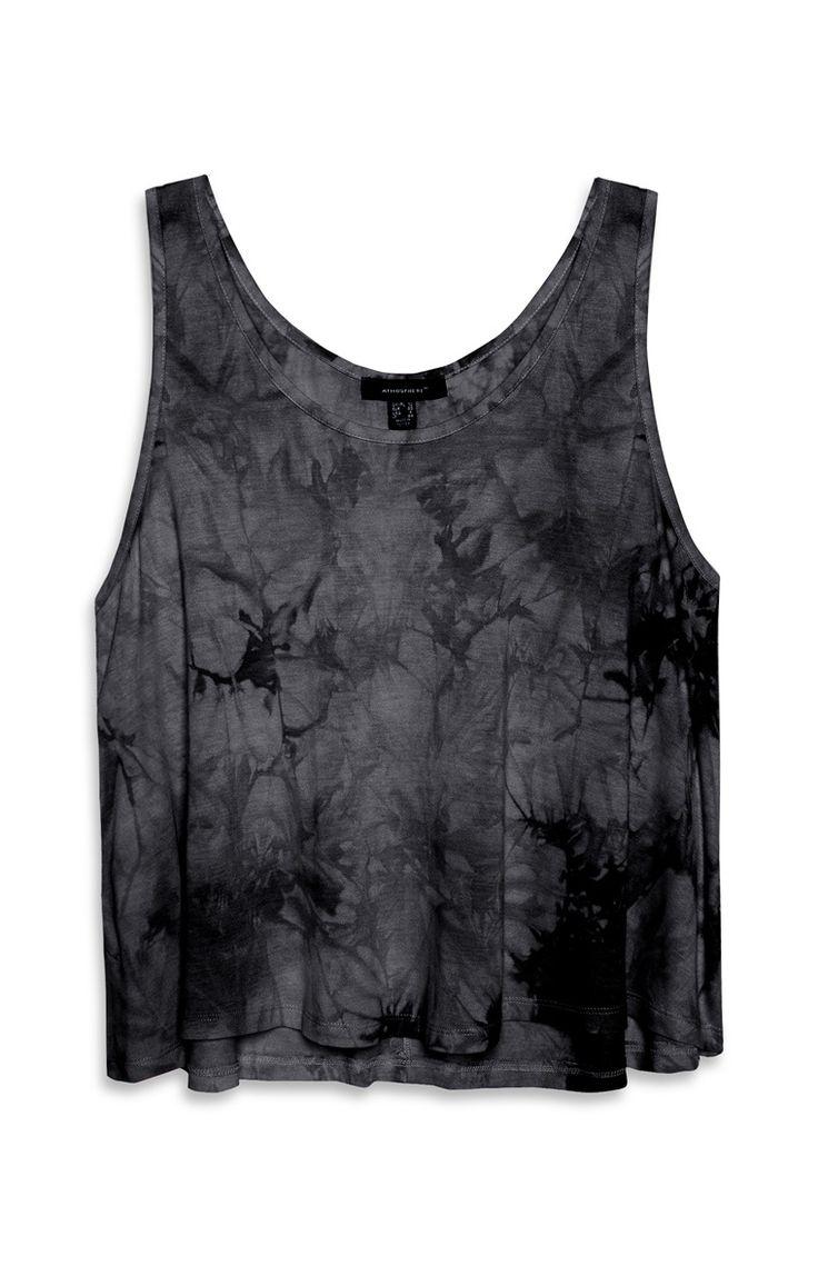 Zwart hemd met kleurverloop