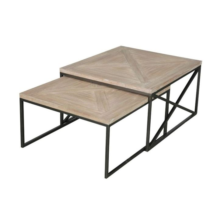Moraine Tan Square Table Set By Crafted Home
