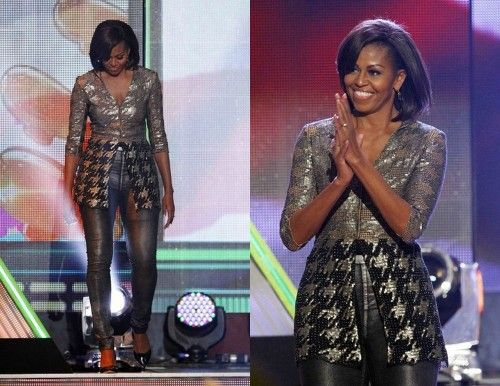 The First Lady is Gettin' It! Fit, Beautiful and Brilliant. She is a style icon.