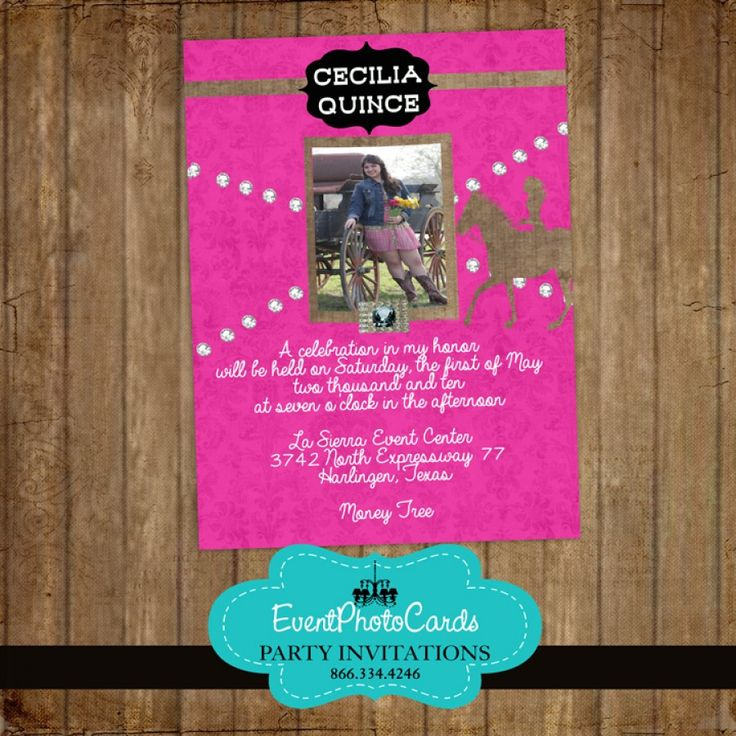 20 best images about Breakfast at Tiffany Quinceanera – Quinceanera Party Invitations