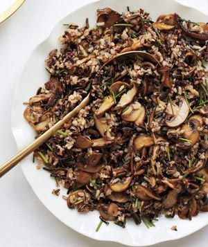 Wild Rice and Mushroom Pilaf|