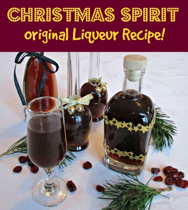 Christmas Liqueur | Craft Invaders  Our wonderful, original Christmas Liqueur Recipe. All the warmth and taste of Christmas in a drink. Contains spices, fruit, pine needles - think mince pies and Christmas trees. Full recipe and easy instructions. Would make a perfect gift.
