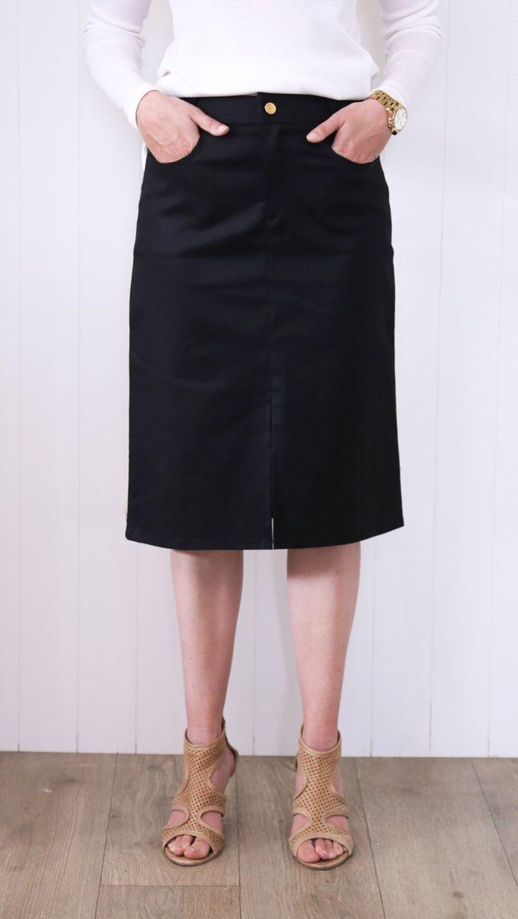 PW Patio Skirt - Black
