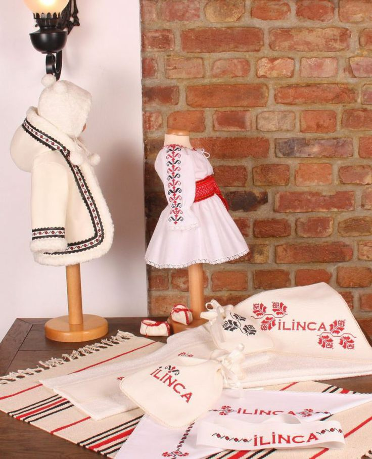 Trusou botez traditional romanesc - Traditional romanian suit for Christening
