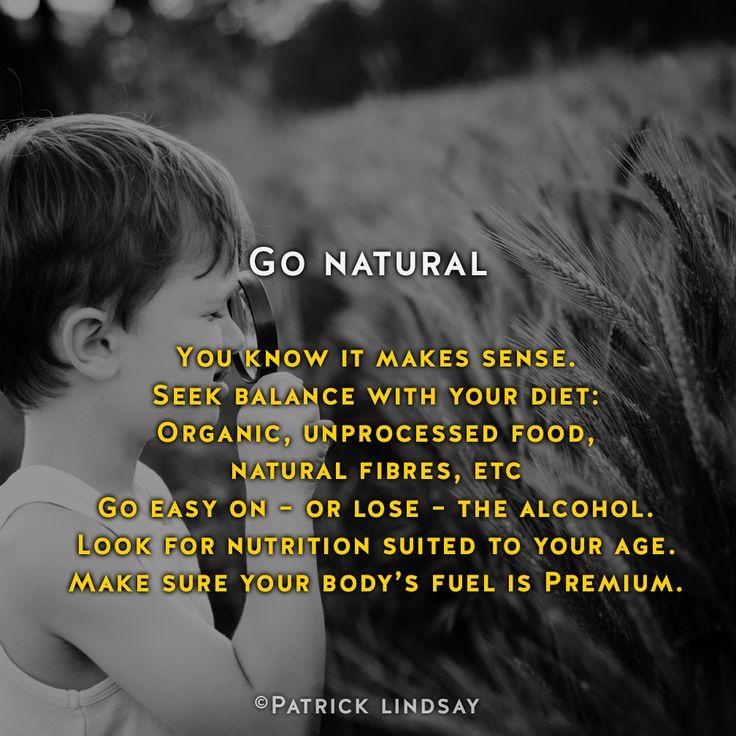 Go natural #inspiration #highhopes #makethemostofyou #dymocks Make the most of you: http://goo.gl/iBCYku