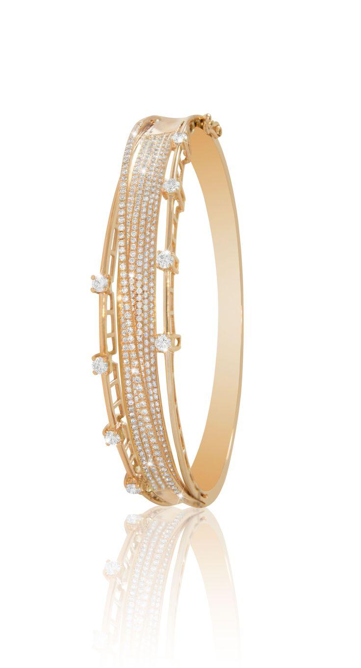 #lialijewellery #love #gift #rosegold #diamond #midnightrose #bangle #liali #jewellery