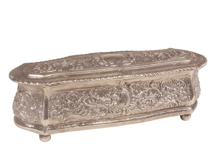 Decorative Box Hinges Antique Silver Decorative Box W Hinge  Products I Love