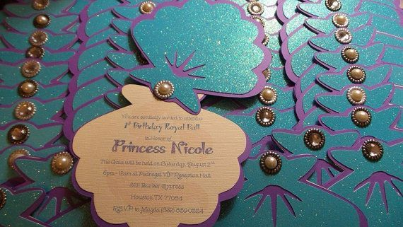 20 Fin-tastic Under the Sea Quinceanera Invitations
