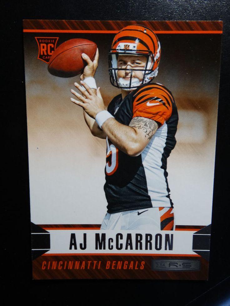 2014 Panini Rookies and Stars #101 AJ McCarron Cincinnati Bengals Rookie Card #CincinnatiBengals