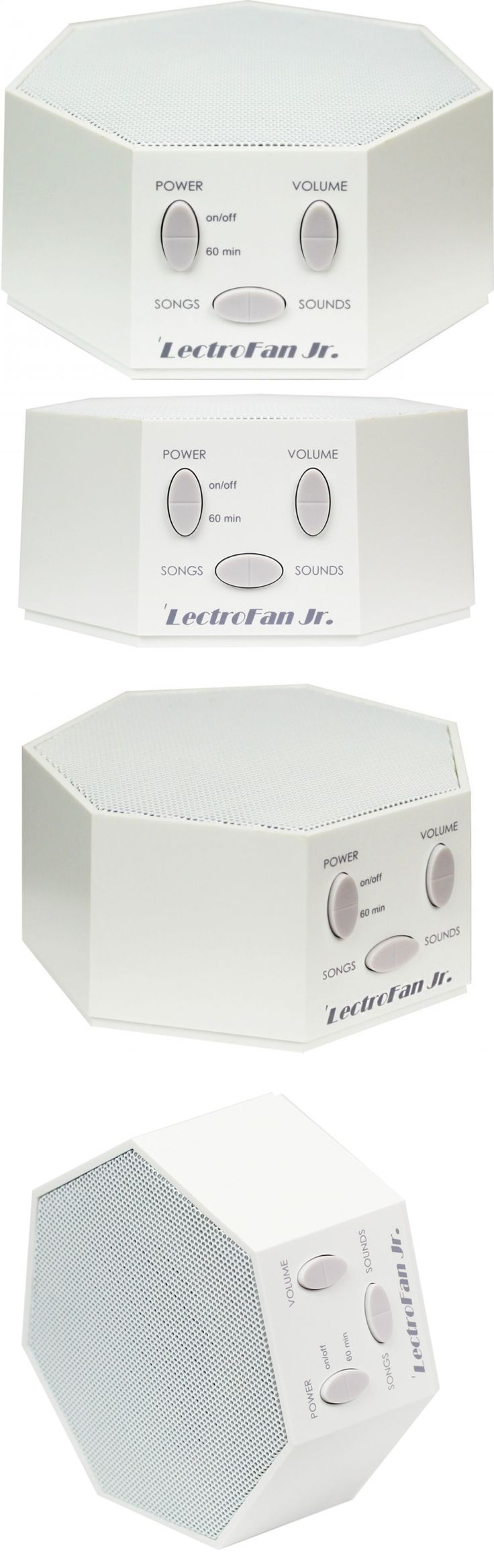 Sound Therapy: Lectrofan Jr. - White Noise Sound Machine With 6 Fan And 6 White Noise Sounds Pl -> BUY IT NOW ONLY: $41.57 on eBay!