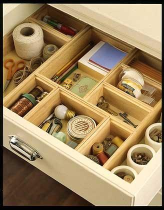 Organized Drawer system