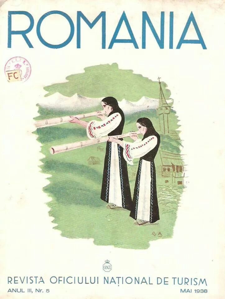 Vintage Travel Poster - Romania.
