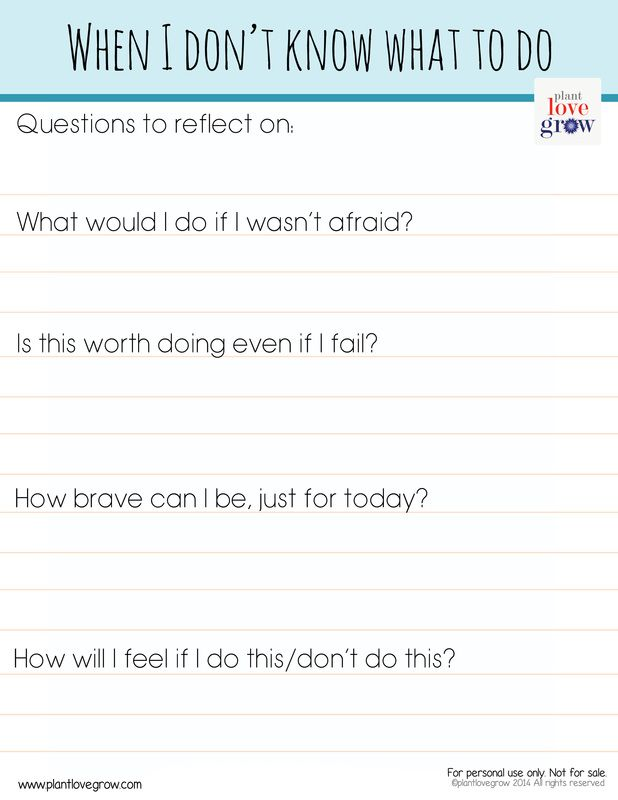 Some reflective questions to help us figure out what to do in difficult situations.  http://www.plantlovegrow.com/vision--self-knowledge.html