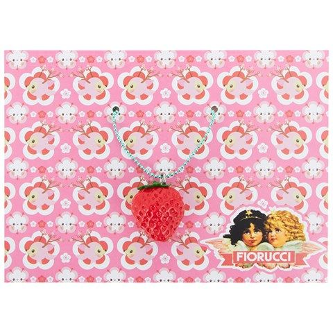 Pop Cutie Strawberry Necklace